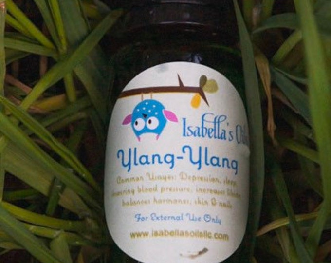 Ylang-Ylang 100% Therapeutic Grade essential oils