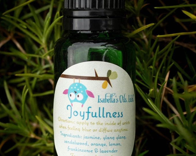 Joyfullness 100% Therapeutic Grade Essential Oil Blend
