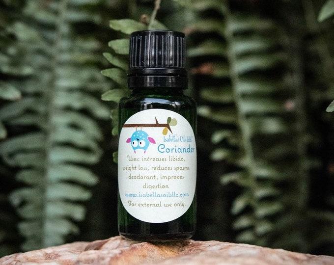 Coriander 100% Therapeutic Grade Essential Oil