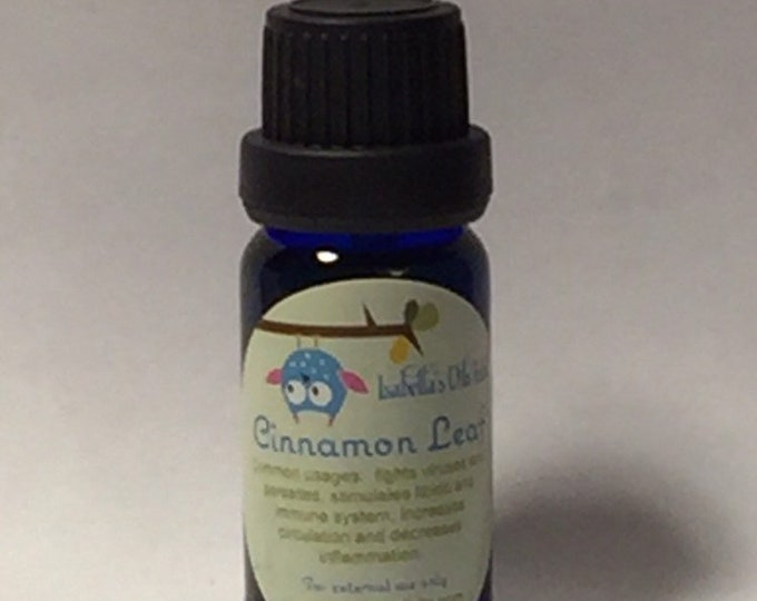 Cinnamon Leaf 100% Therapeutic Grade Essential Oil