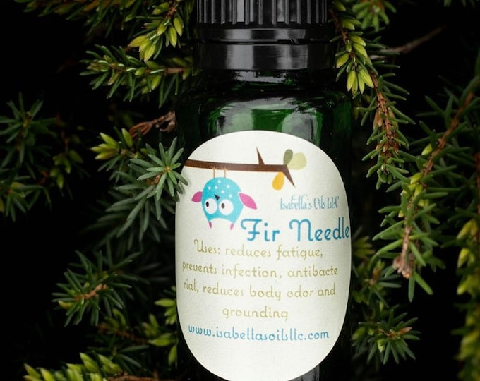 Fir Needle 100% Therapeutic Grade Essential Oil Small Batch