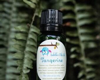 Tangerine 100% Therapeutic Grade Essential Oil Small Batch