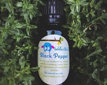Black Pepper 100% Pure Essential Oil small Batch