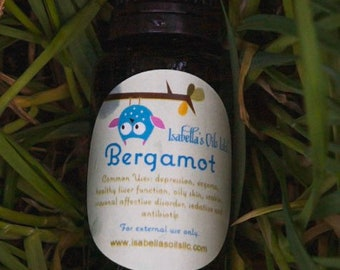 Bergamot 100%  Therapeutic Grade Essential Oil Small Batch