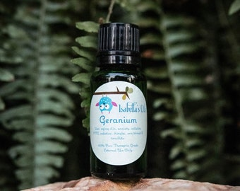 Geranium 100% Pure Essential Oil Small Batch