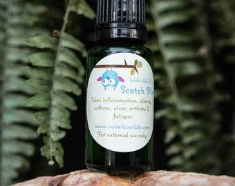 Scotch Pine 100% Therapeutic Grade Essential Oil Small Batch