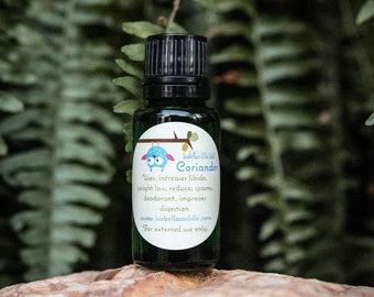 Coriander 100% Therapeutic Grade Essential Oil Small Batch