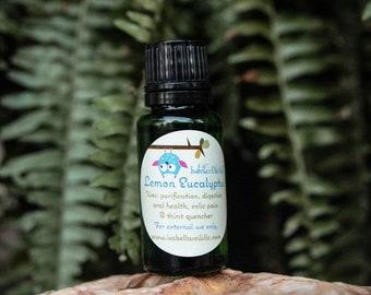 Lemon Eucalyptus 100% Therapeutic Grade Essential Oil Small Batch