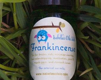 Frankincense 100% Therapeutic Grade essential oil Small Batch