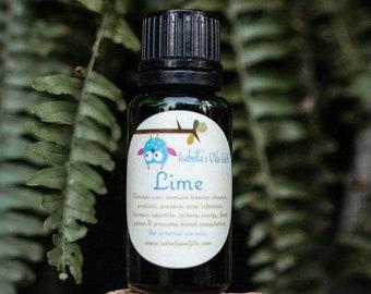 Lime 100% Therapeutic Grade essential oil Small Batch