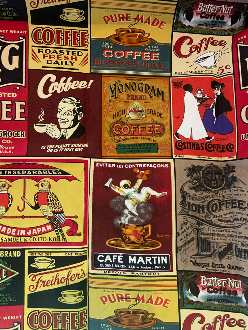 Coffee Lover Lamp Shade  Cafe Style Lamp image 0