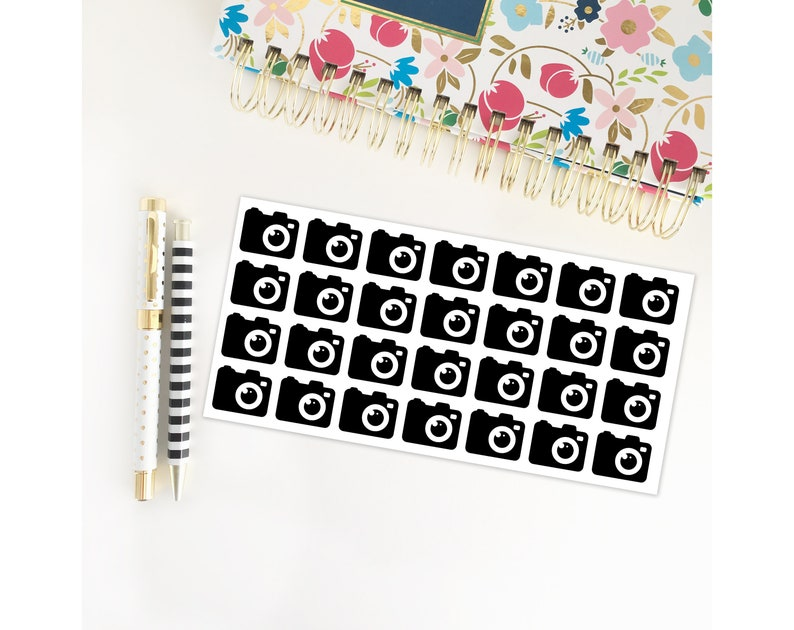 Camera Planner Stickers / Instagram / Photography / Erin image 0