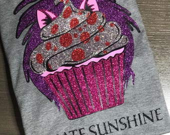 Disney Shirt, Cupcake, Mad Madame Mim, Madam mim, mickey head, Glitter, Sparkle, Trip, Vacation, Kids, Mens, Ladies, Women's Plus Size