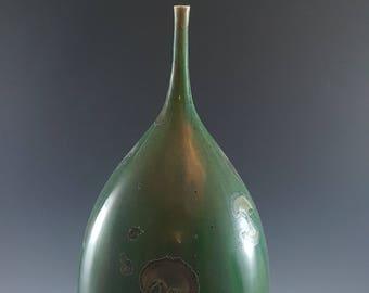 Bottle Green Crystalline Enamel