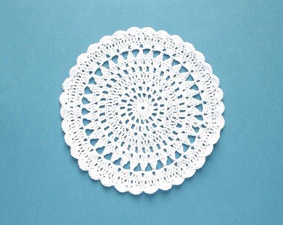 Crochet Doily Pattern Crochet Doily For Beginnes Home Etsy