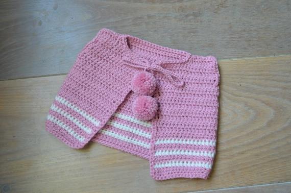 6698a0891c7a Crochet cardigan baby girl Pink baby sweater Newborn