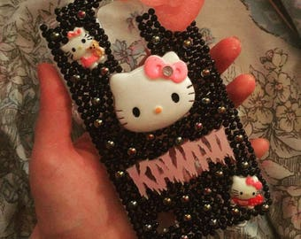 Hello Kitty, decoden phone case