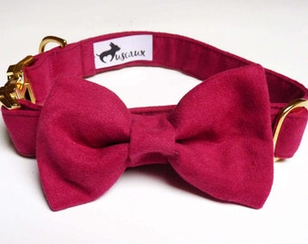 "Dog - ""Soft"" suede collar #2"