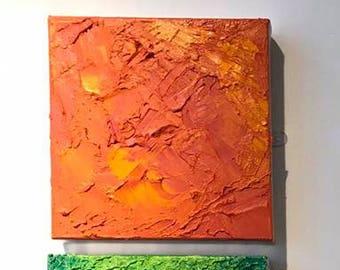 Abstract Orange