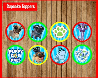 Puppy cupcake topper | Etsy