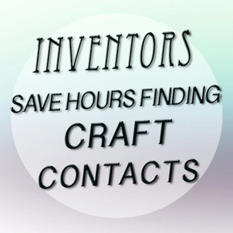 Best Craft/Novelty Company Contacts for Designers, Inventors to License Idea
