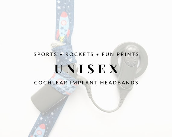 UNISEX Bilateral Cochlear Implant Headbands