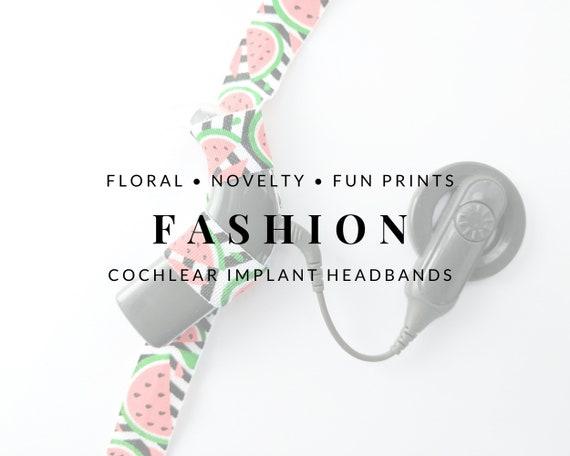 FASHION Bilateral Cochlear Implant Headbands