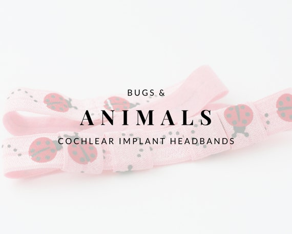BUGS & ANIMALS Bilateral Cochlear Implant Headband