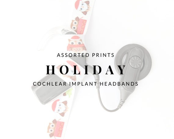HOLIDAY Bilateral Cochlear Implant Headbands