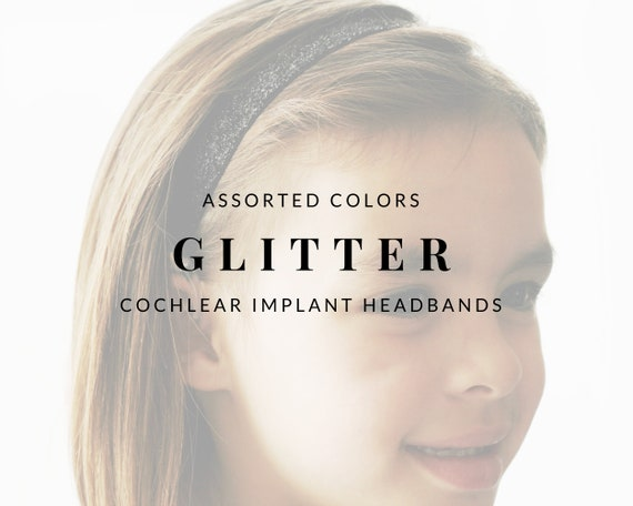 GLITTER Bilateral Cochlear Implant Headbands