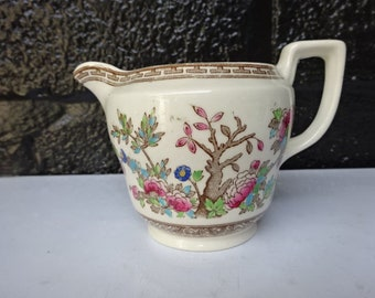 Vintage Ye Olde Indian Tree Ceramic Creamer/Creamer/English Creamer/Creamers/Indian Tree/Afternoon Tea/Collectable/Vintage