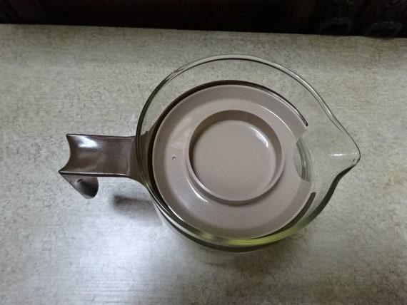JAJ rétro Pyrex verre cafetière   théière   JAJ   Pyrex verre   Etsy 6267fc2d4605