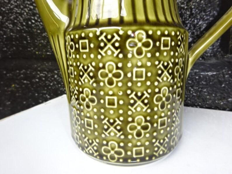 Sadler England Olive Green Retro Coffee Pot TeapotSadler TeapotsVintage Coffee PotsVintage TeapotsRetro TeapotsRetro Decor1970s