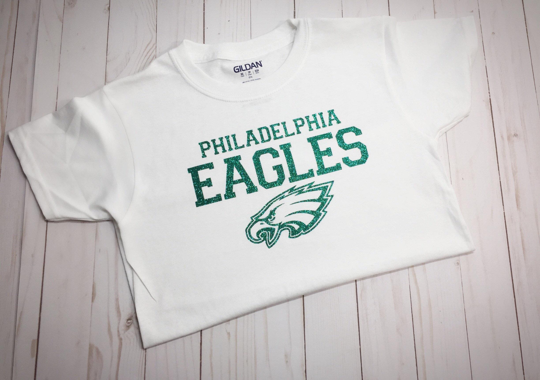 new concept cbaa8 2b463 Girl's Philadelphia Eagles T Shirt, Youth Philadelphia Eagles Shirt,  Philadelphia Eagles Shirt, Kids Eagles Shirt