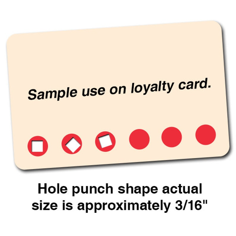 Square Hole Punch 18