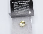 Manhattan Project Glass Shield Faceted Sterling Ring