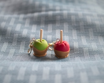 Caramel Apple Charm
