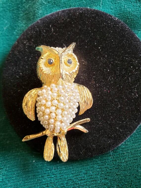 Hobe Owl Pin