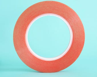 Super strong double sided red liner tape