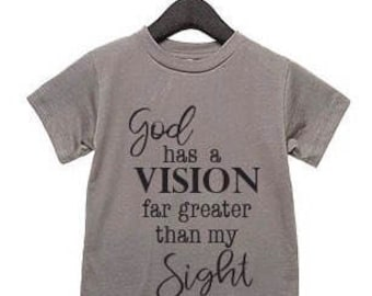 God has a vision