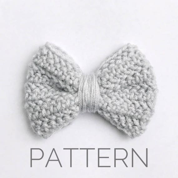Crochet Bow Pattern//Bow Accessory//DIY Bow//Crochet | Etsy