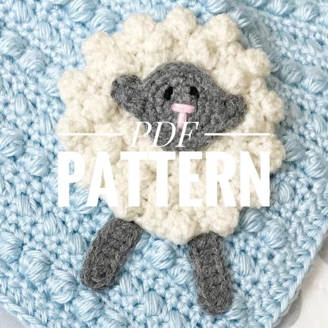 Crochet Security Blanket Pattern//Crochet Baby Blanket | Etsy