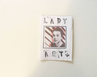 LADY ART + // Handmade Women's Art Zine