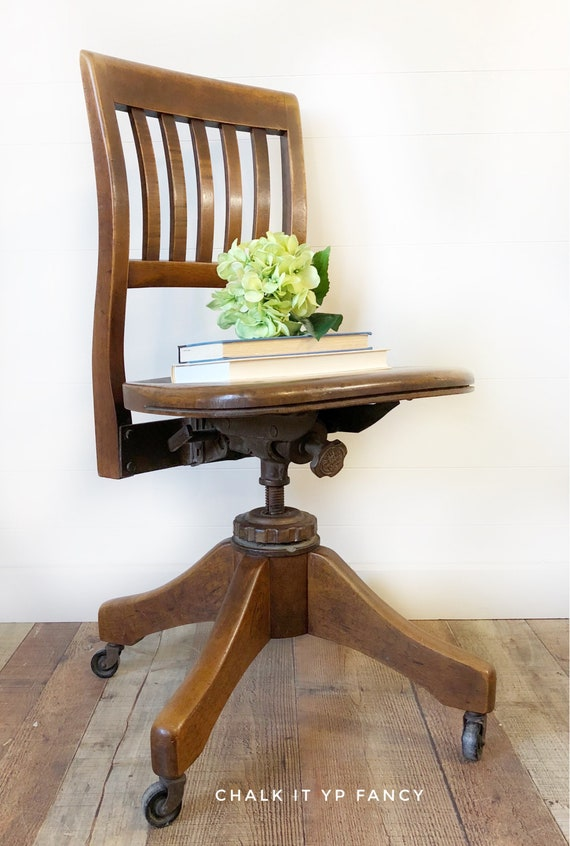 Vintage Library Chair