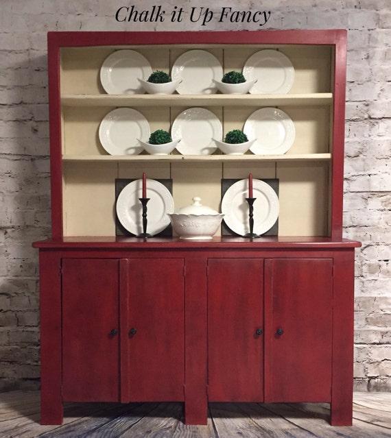 Cupboard Hutch Cabinet Coffee Bar Kitchen Storage House Etsy