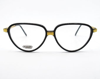 5011db839e Missoni M803 Vintage Flat Top Cat s Eye Lady Eyeglasses