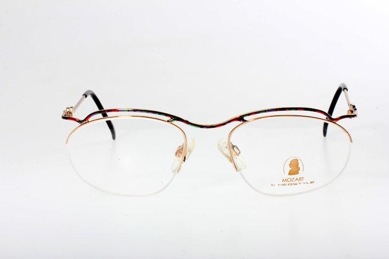 e9f71191760 Neostyle Mozart multicolor eyeglasses original semi