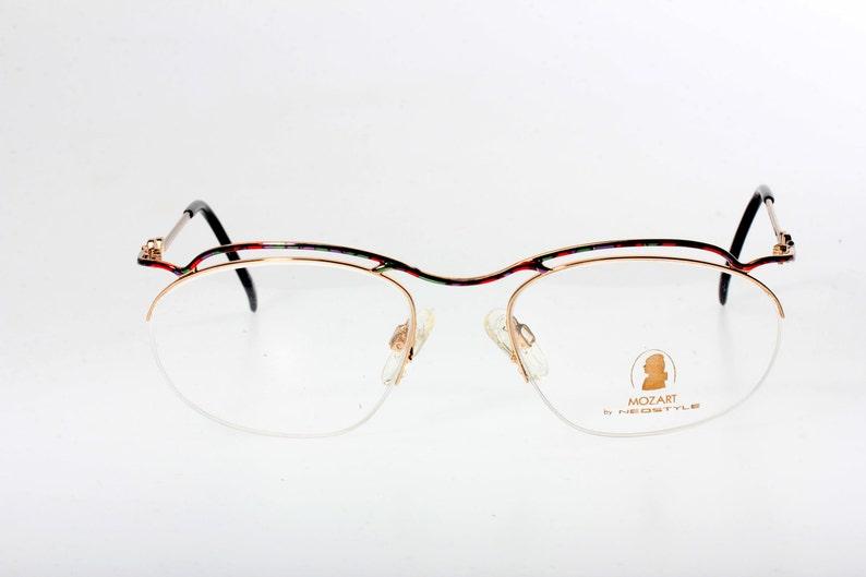 f567381f4dc Neostyle Mozart multicolor eyeglasses original semi-rimmed