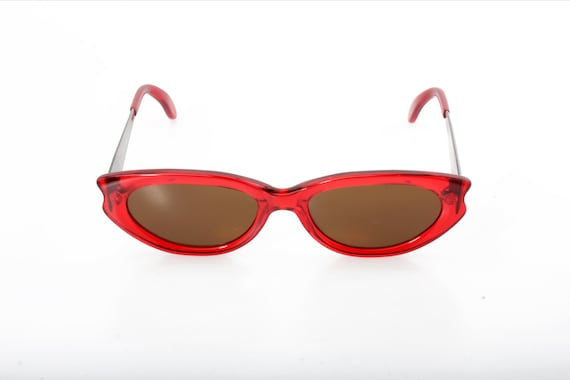509f62d8101 Red Cat Eye italian vintage sunglasses by Kàdor designed