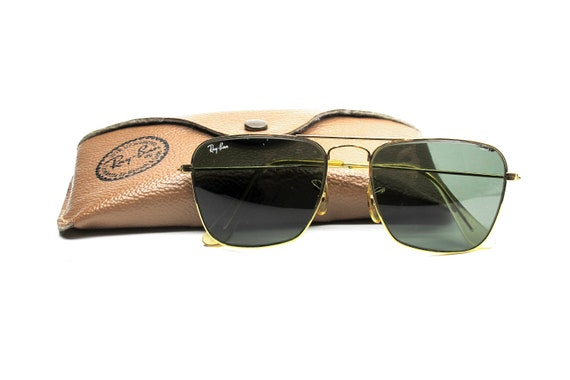 babfc1f646b Rayban Bausch Lomb caravan squared sunglasses with original case